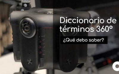 Listado de términos que debes conocer para crear vídeos 360