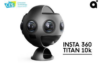 Insta 360 Titan 10k