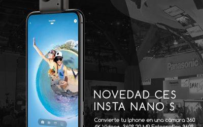 Insta360 Nano S: Fotografías y vídeos 360 en Iphone