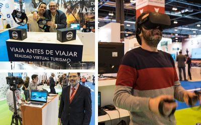 Experiencias de Realidad Virtual en SEGITTUR 2018