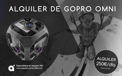 Alquiler GoPro Omni, la revolución del vídeo 360