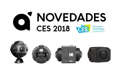 Novedades CES 2018 Cámaras 360 y 3D